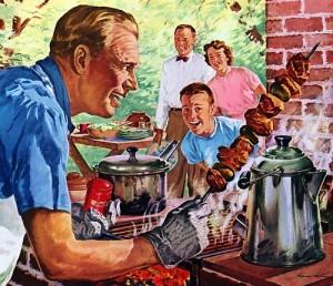 BBQ retro az USA-ban