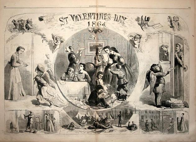 Valentin nap, 1864