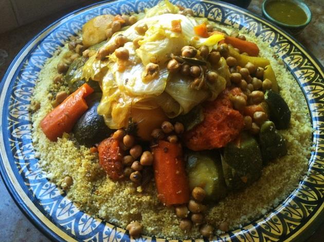 Marokkói kuszkusz