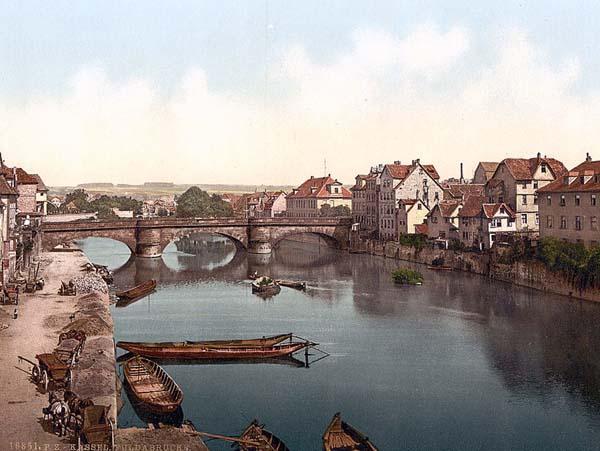 A Fulda-híd Kasselban