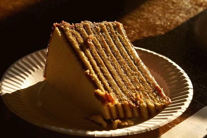 Tízrétegű Smith islnad torta