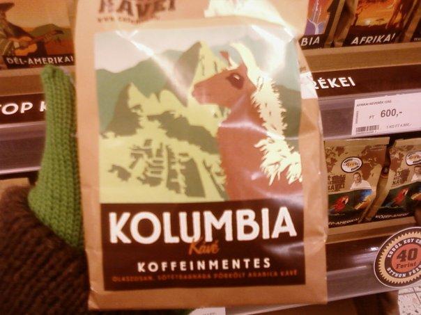 A Freio Tamás nevével fémjelzett Kolumbia kávé, Photo: Erdélyi Zsófia