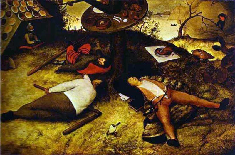 id.Pieter Bruegel, KIókonya földje
