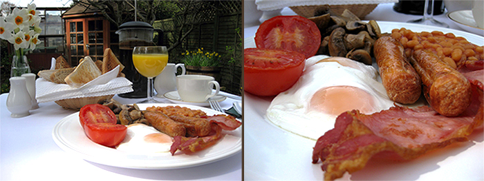 Full English Breakfest, Forrás:  langdaleview