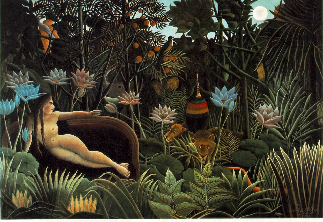 Rousseau, Álom
