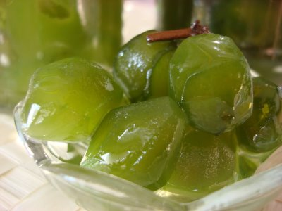 Zöld füge jam; Forrás: lokumhekim