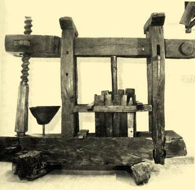 Regősprés 1750-ből Balaton-felvidék, Forrás: mek.niif