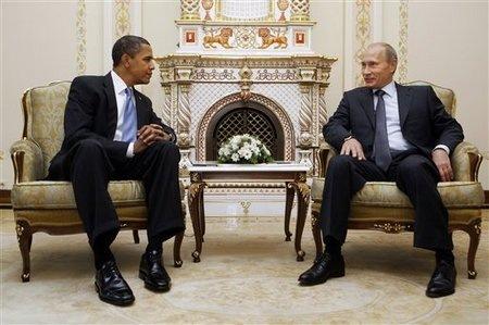 Obama és Putyin a Kremlben