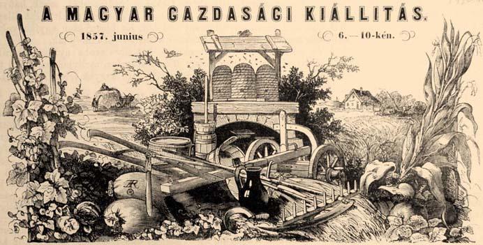 A Magyar Gazdasági Egyesület 1857-es kiállítása