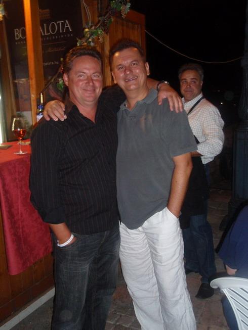 Cseh Gábor (Borpalota, Gyöngyös) és Csíki sándor, www.foodandwine.hu