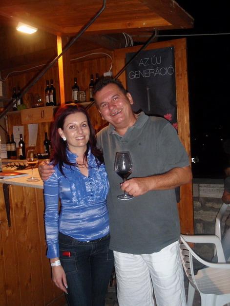 Jekl Flóra (Jekl Pincészet, Villány) és Csíki sándor, www.foodandwine.hu
