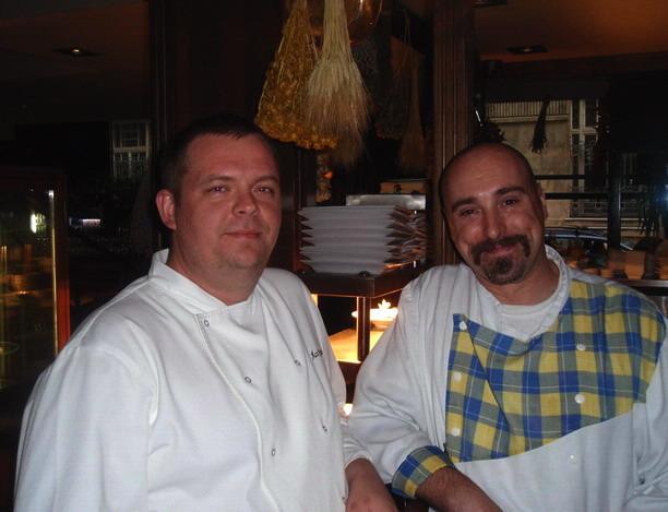 Chefs: Simon Ács Krisztián (Café Miró Grande, Budapest) Photo: www.foodandwine.hu