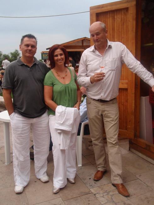Borfesztivál 2009, Csíki Sándor, Szilák Szilvia, Frittmann János; www.foodandwine.hu