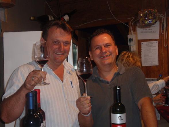 Günzer Zoltán (Villány) és Csíki Sándor (Food & Wine)