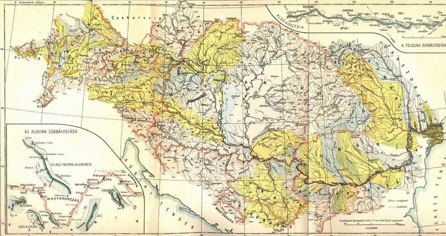Duna térkép, Forrás: mek.niif.hu