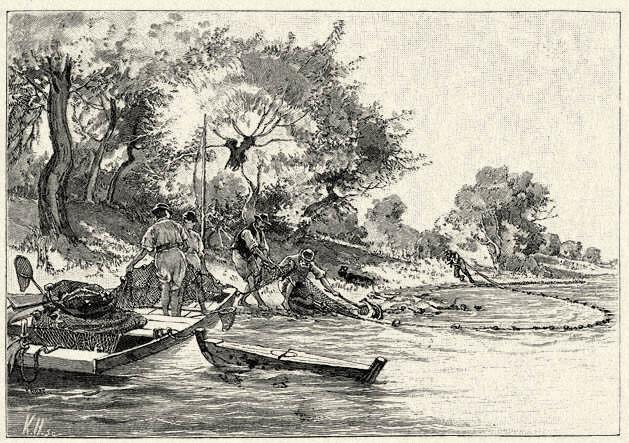 Tiszai halászok, Forrás: tankonyvtar.hu