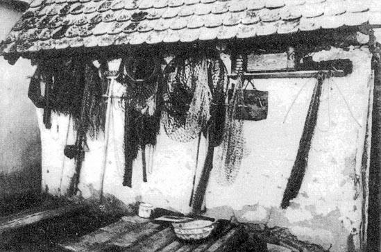 Halásztanya (Kopács, v. Baranya m.) Forrás: tankonyvtar.hu
