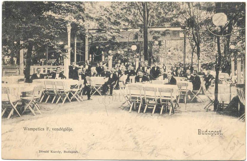 Wampetics, amit Gundel Károly vesz át 1910-ben