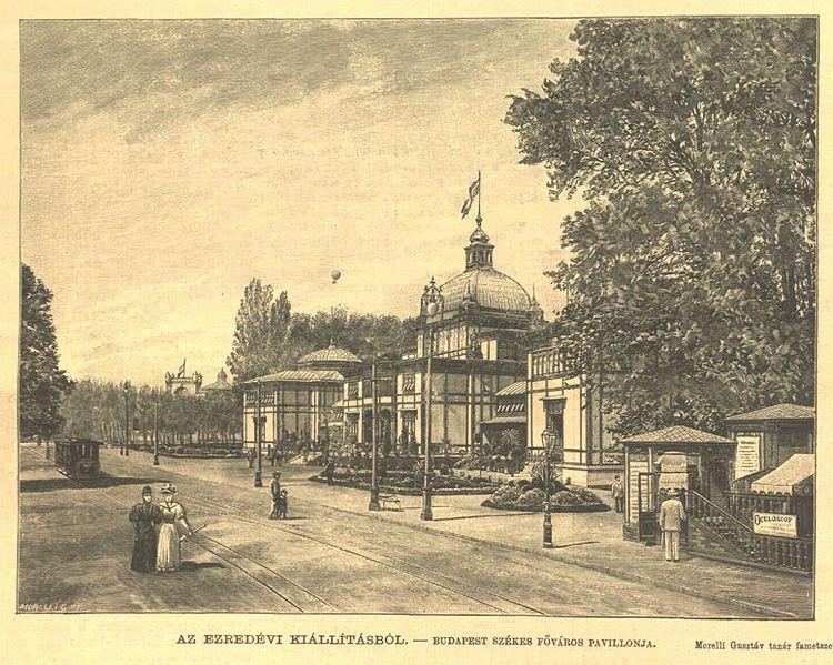 Székesfővárosi Pavilon; Forrás: wikipedia