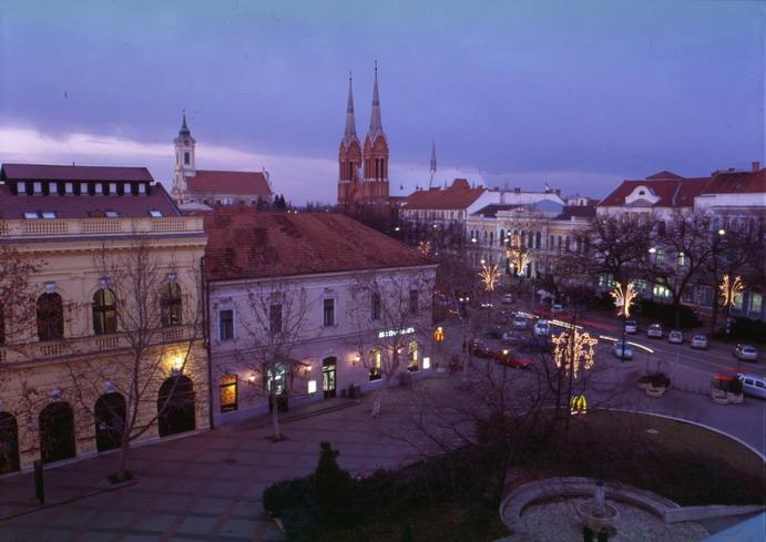Békéscsaba belváros; Forrás: hungaryforvisitors.hu