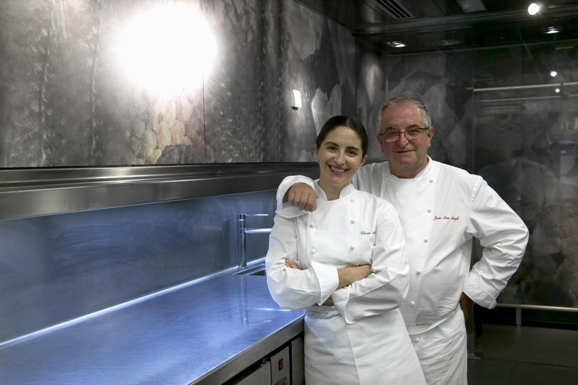 Elena és J.M. Arzak (San Sebastian)