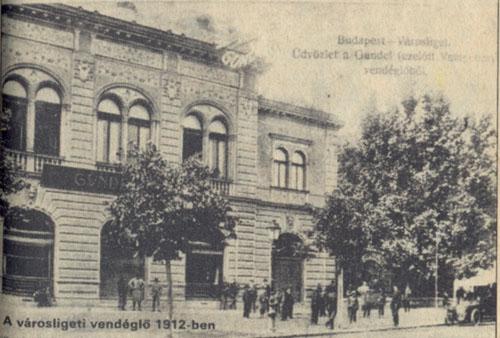 Gundel 1912, Forrás: retronom.hu