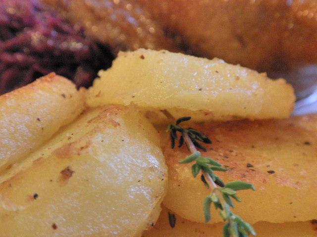 Libazsírban sült burgonya; www.foodandwine.hu