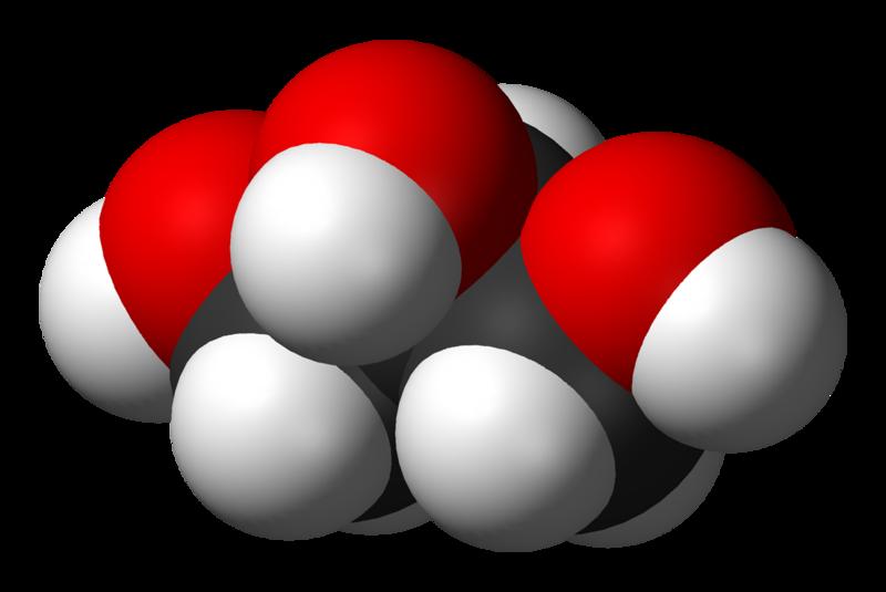 Glicerol; Forrás: wikipedia