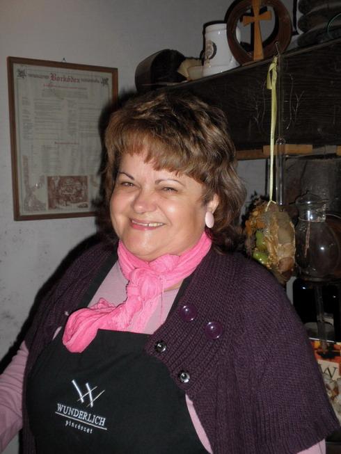 Wunderlich Alajosné, Edit, Villány, www.foodandwine.hu