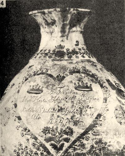 Fazekas céhkancsó eleje a tisztségviselők nevének felsorolásával (1847) Debrecen, Déri Múzeum, Forrás:   mek.oszk.hu