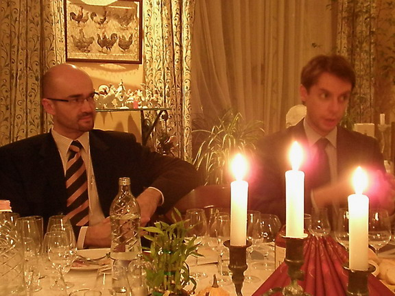 Dr.Kötmöczi Imre és Olivier Jadeau (Delamain), www.foodandwine.hu