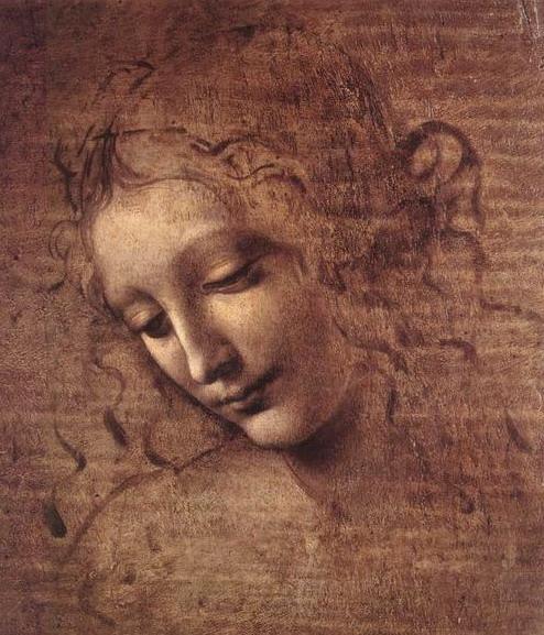 Leonard da Vinci, La Scapigliata, 1508