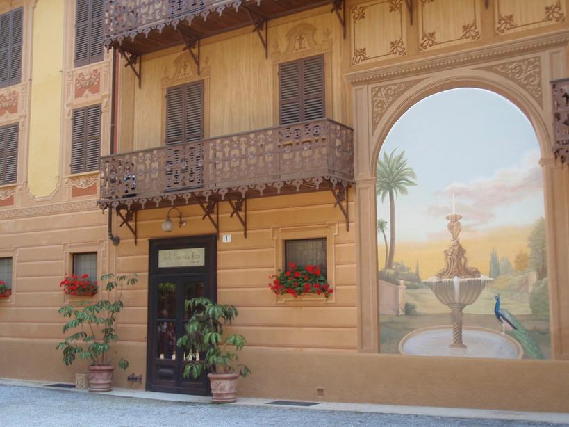 Vittorio Emanuele szeretőjének kastélya; www.foodandwine.hu