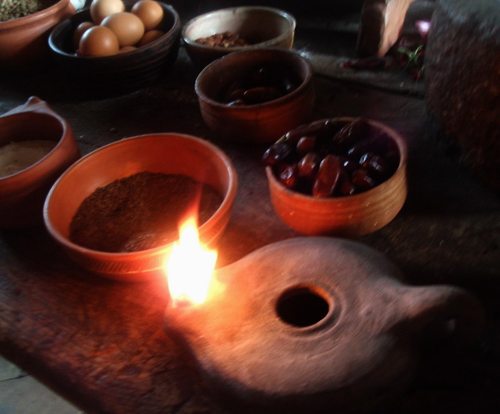 Római kori konyhabelső 8Roman kitchen); www.foodandwine.hu