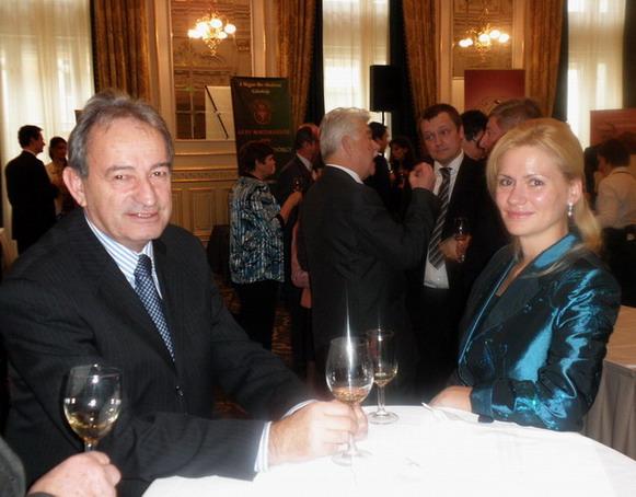 Kamocsay ákos és felesége; www.foodandwine.hu
