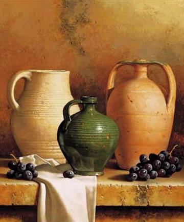 Loran Speck: korsó szőlővel; Forrás: art.com