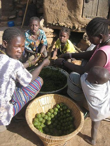 Dogon asszonyok; Forrás:  agdes.blogspot.com
