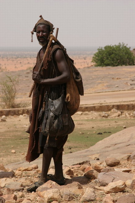 Dogon férfi; Forrás: wikimedia.org