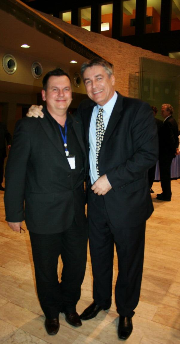 Dr.Csíki Sándor és Dr.Bedros J. Róbert Ph.D. a Magyar Obesitológiai és Mozgásterápiás Társaság elnöke; Fotó: Tamics Dóra