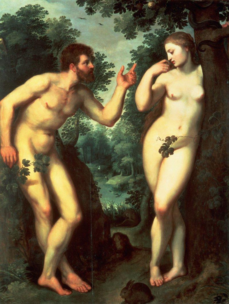 Rubens: Adám és Éva