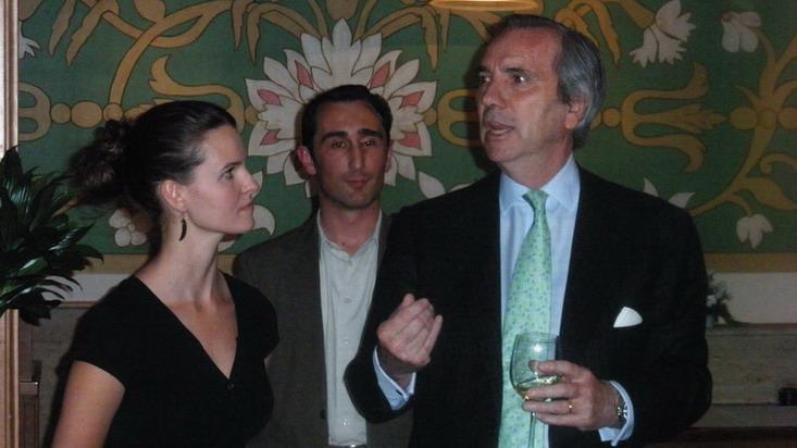 Tanka Györgyi, Petzold Attila és a spanyol nagykövet, www.foodanwine.hu