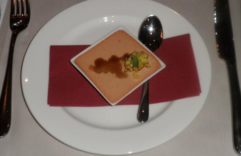 Libamájpástétom mangóval, borecettel; www.foodandwine.hu