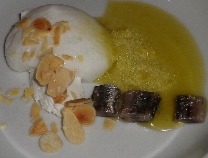 kecskesajt és szardella; www.foodandwine.hu