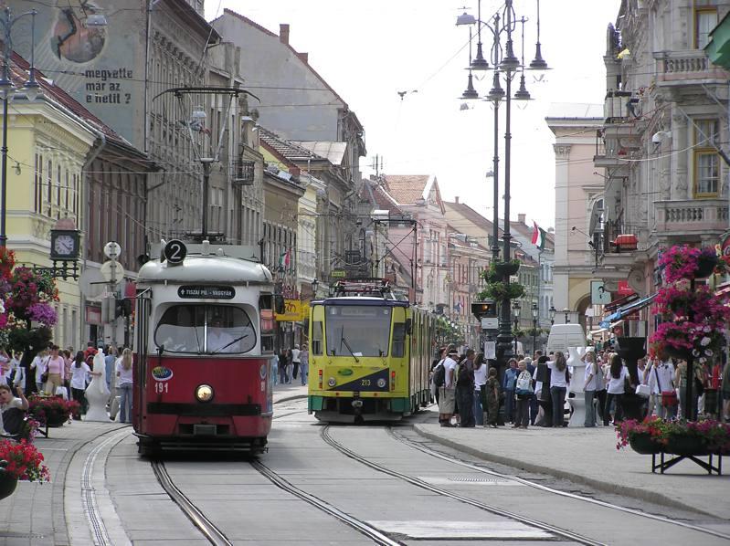 Miskolc Széchenyi utca; Foprrás: miskolc.co.hu