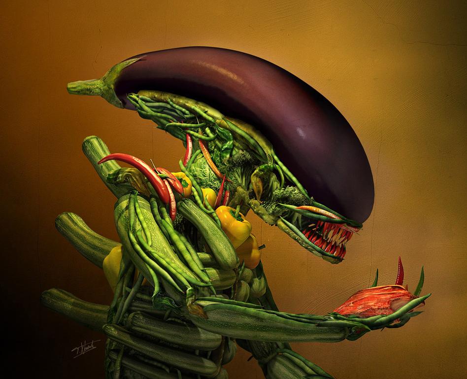 Vege alien; Forrás: framebox.de