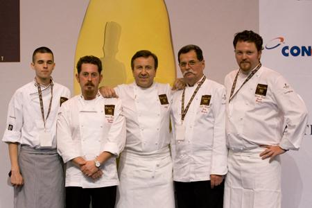 A magyar Bocuse d'Or csapat