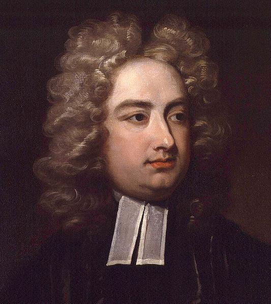 Jonathan Swift (Charles Jervas festménye, részlet),