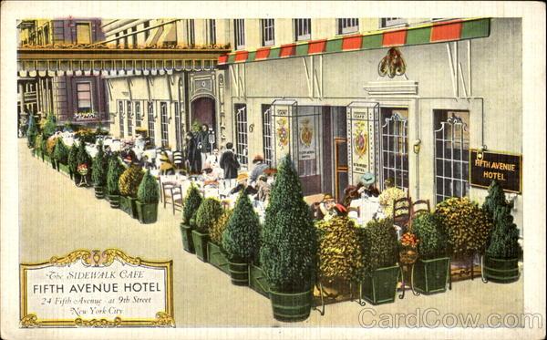 The Fifth Avenue Hotel, New York City, az 1940-es években