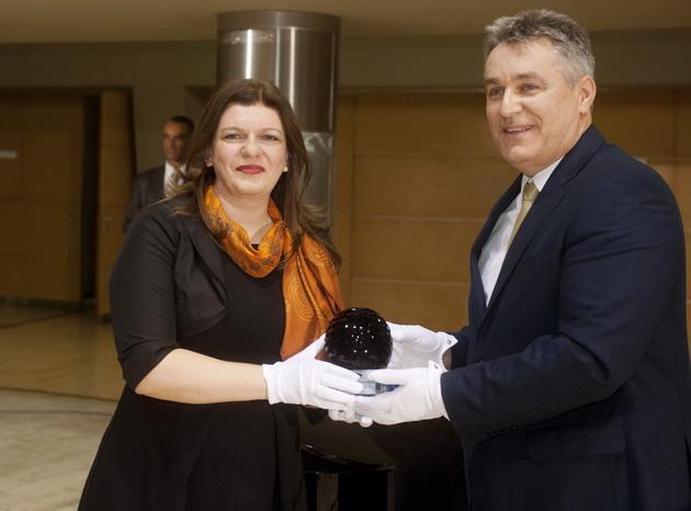 díjátadás - Bianca Bourbon Prof  Dr  Bedros