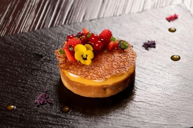 Passion Fruit and Lemongrass Tart